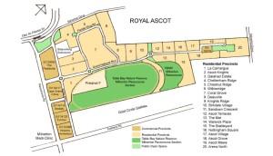 Royal Ascot map